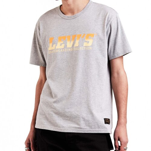 Levis Skateboarding Collection T-Shirt Graphic Logo heather grey