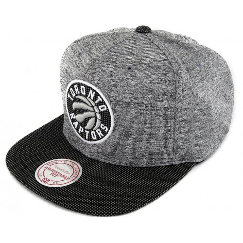 Mitchell & Ness Snapback Toronto Raptors Space Knit Crown heather