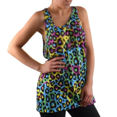 Amplified Girl Tank Top neon Leo