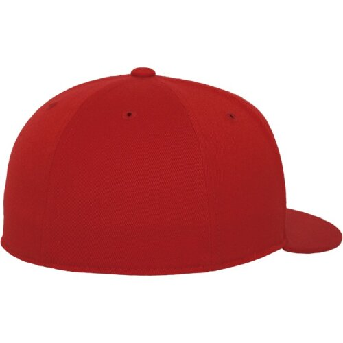 Yupoong Flexfit Premium 210 Fitted Cap red/red