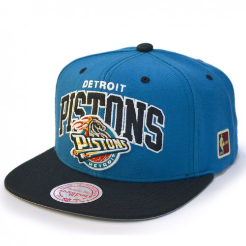 Mitchell & Ness Snapback Detroit Pistons Team Arch HWC turquoise/black