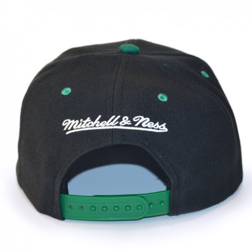 Mitchell & Ness Snapback Seattle Supersonics Team Arch HWC black/green