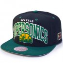 Mitchell & Ness Snapback Seattle Supersonics Team Arch...