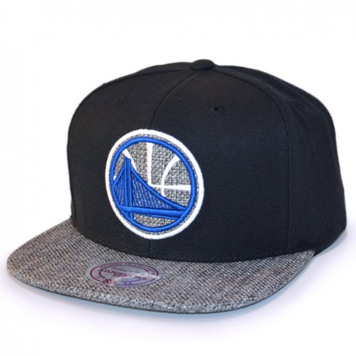 Mitchell & Ness Snapback Woven TC Golden State Warriors black/grey