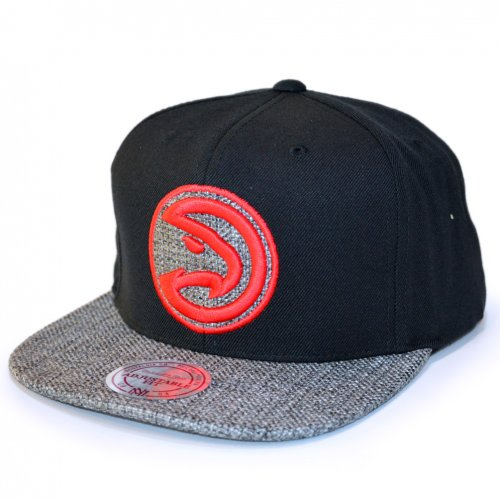 Mitchell & Ness Snapback Woven TC Atlanta Hawks black/grey