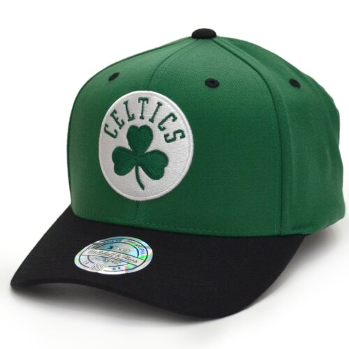 Mitchell & Ness Snapback 110 Curved 2 Tone Team Logo Boston Celtics green/black