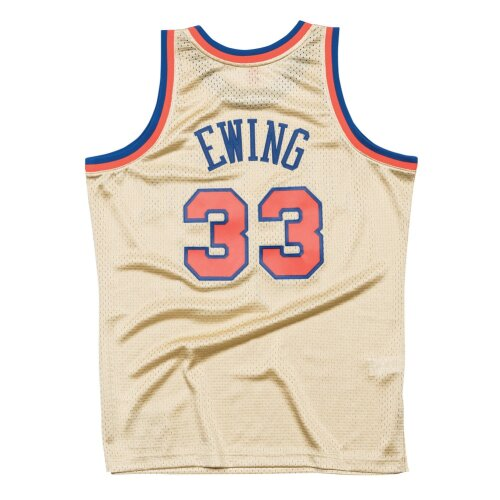 Mitchell & Ness Swingman New York Knicks Patrick Ewing 33 gold