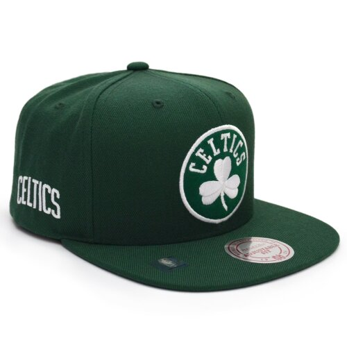 Mitchell & Ness Snapback Cap Under Visor Boston Celtics forrest