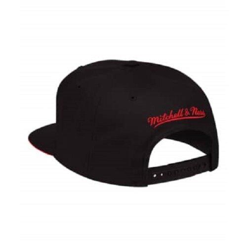 save off 89815 f7f30 ... get mitchell ness snapback cap xl cropped atlanta hawks logo black  663bf 492eb