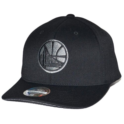 74afc99a16082 Mitchell Ness Snapback Cap Golden State Warriors 110 Curved