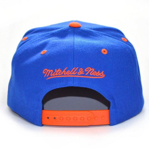 Mitchell & Ness Snapback Cap Team Arch HWC Ney York Knicks blue/orange