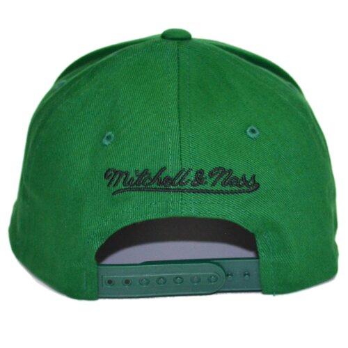 Mitchell & Ness Snapback Cap Team Logo low Pro 110 Boston Celtics green
