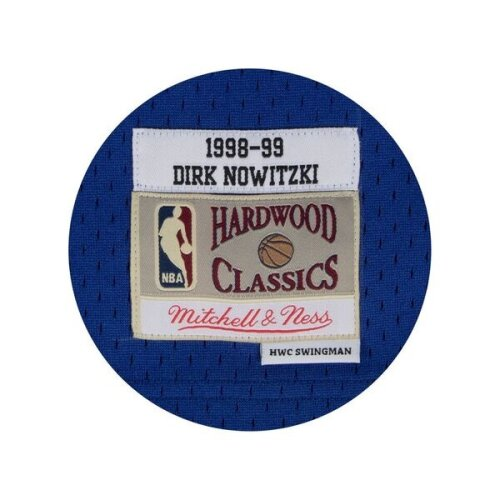 Mitchell & Ness Swingman Jersey Dallas Mavericks - Dirk Nowitzki #41 royal