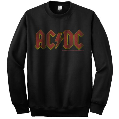 Amplified Sweatshirt AC DC Logo