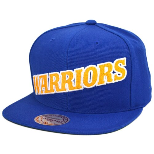 Mitchell & Ness Snapback Golden State Warriors Wool Solid royal