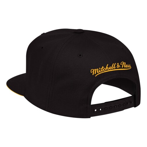 Mitchell & Ness Snapback Cap XL Cropped Los Angeles Lakers Logo black