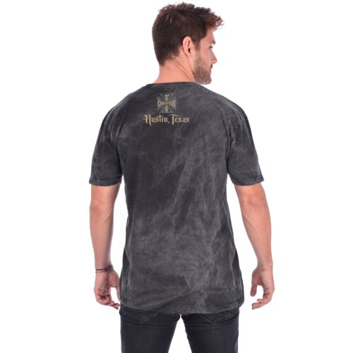 West Coast Choppers Shirt Chief dark grey