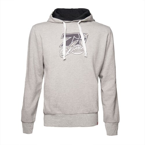 West Coast Choppers Kimi Cross Seven Hoodes Sweatshirt grey melange
