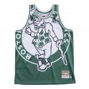 Mitchell & Ness Big Face Jersey Boston Celtics green