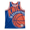 Mitchell & Ness Big Face Jersey New York Knicks royal