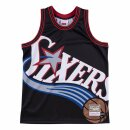 Mitchell & Ness Big Face Jersey Philadelphia 76ers black