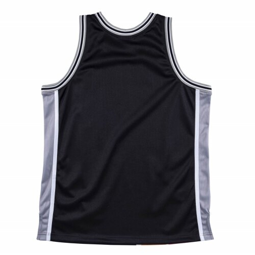Mitchell & Ness Big Face Jersey San Antonio Spurs black