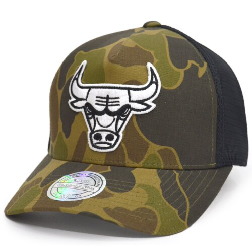 Mitchell & Ness NBA Duck Camo 110 Snapback Chicago Bulls