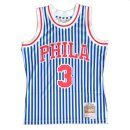 Mitchell & Ness NBA Striped Swingman Jersey Philadelphia...