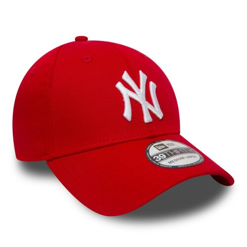 New Era Cap League Essential 39Thirty New York Yankees scarlet/white