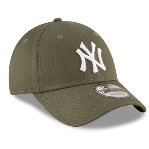 New Era Cap League Essential 9Forty New York Yankees oliv/white