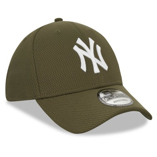 New Era Cap Diamond Essential 9Forty New York Yankees olive/white