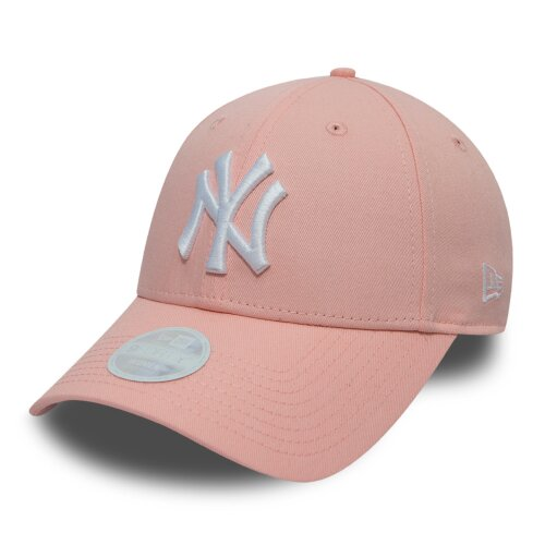 New Era Cap Female League Essential 9Forty New York Yankees pink/white