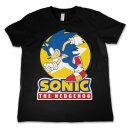 Fast Sonic - The Hedgehog Kids T-Shirt black