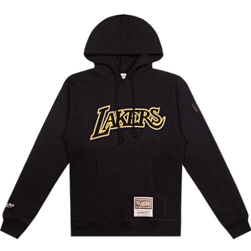 Mitchell & Ness NBA Logo Pop Hoody LA Lakers black