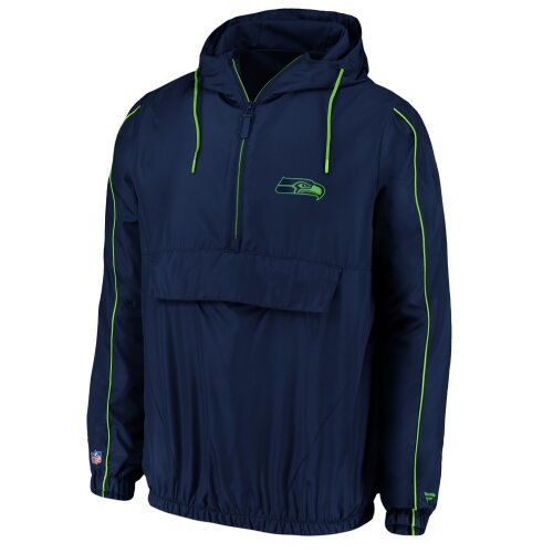 Fanatics Seattle Seahawks Iconic Carnival Quarter-Zip NFL Jacke navy