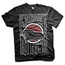 Knight Rider Sunset K.I.T.T. T-Shirt black