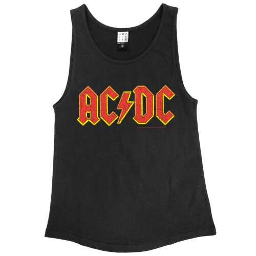Amplified Girl Tank Top AC DC Logo