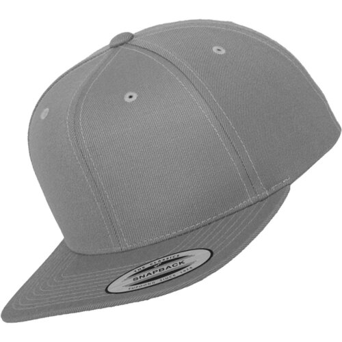 Yupoong Classic Snapback silver