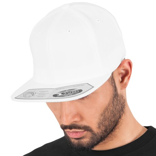 9cd1d6df478c8 Yupoong Flexfit 110 Fitted Snapback Cap white ...