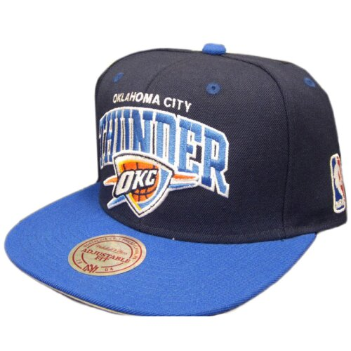 Mitchell & Ness Oklahoma City Thunder Team Arch 2 tone blue/royal