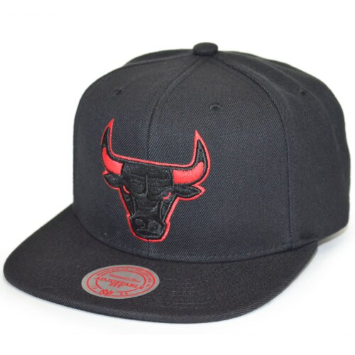 Mitchell & Ness Snapback Chicago Bulls Solid Team Siren