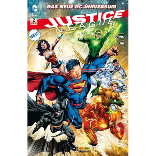 Justice League Comic 2